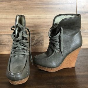 New Diva Lounge high heel ankle boots. Size 7.